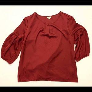 Talbots Satin blouse